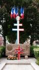 Monument du souvenir avec la croix de Lorraine