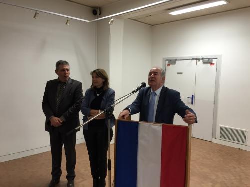 AG BCE Isabelle Caullery  et Yves Revillon