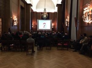 Audience le 2 décembre 2014